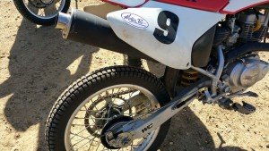 Supermoto rubber